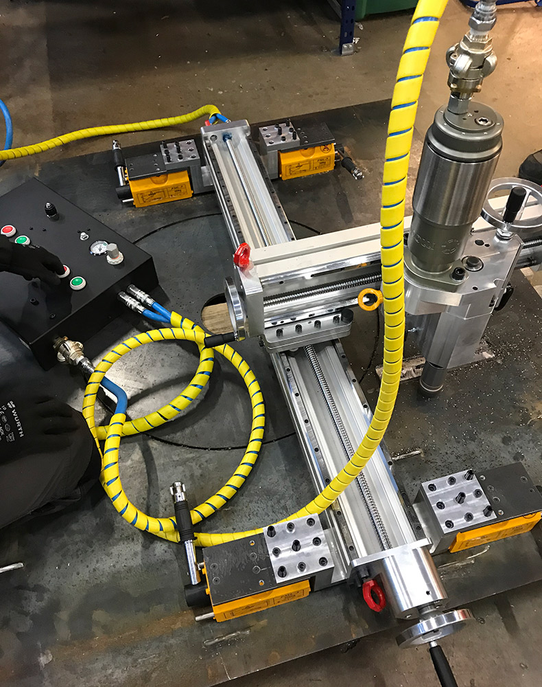 Normaco 3-Axis Portable milling machines