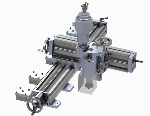 Portable Milling machine with X,Y and Z axis